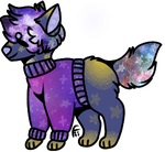Space Pupper (CLOSED) by BTCSAdopts