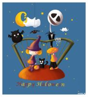 en avance: happy halloween by mikakoO