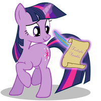 Twilight_Sparkle_Scroll by ForsakenSharikan