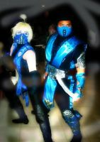MK: Frost and Sub-Zero by daggert6
