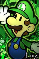 luigi wallpaper by DrGengar
