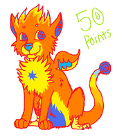 50 pt adoptable OPEN by DarkChocaholic