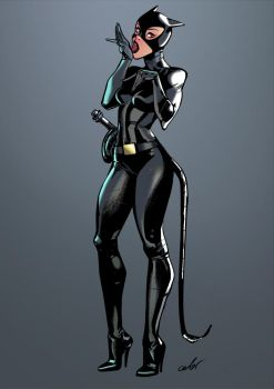Catwoman by celor