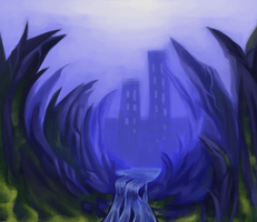 Speedpaint: Valley by mouseymachinations