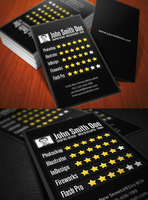 Skills Business Card by Nyz87