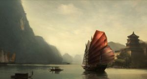 Chinese Junk by prayerpure29