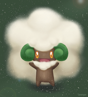 Whimsicott by Serenyan