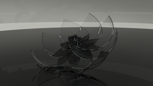 Glass Flower by EssiMoon
