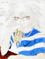 Yami no Bakura Over 1000 Hits by alexpharoa
