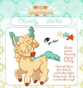 Chantilly the Harbinger by BeanBread
