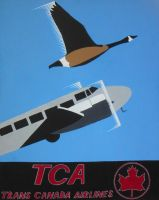 Trans Canada Airlines by DecoEchoes