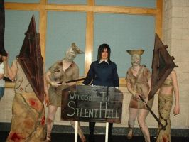THE Silent Hill group by laxuli