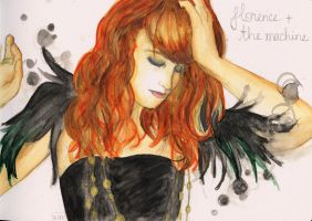 Florence + the Machine by psychotic-cheshire