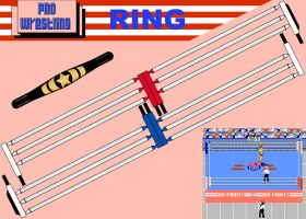 NES PRO WRESTLING RING-BELT 2 by Saikyo-Master