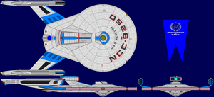 USS Mercury Multi-View by captshade