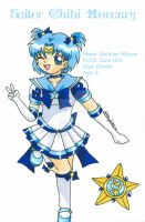 Sailor Chibi Mercury by YuniNaoki