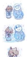 Cold Bodies, Warm Hearts Pt 1 (Undertale) by Leilani-Lily