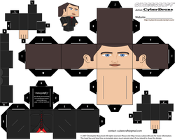 Cubee - Ianto Jones by CyberDrone