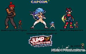 My Favorite Capcom Characters by XTP597