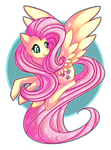 Glam Mane Flutterbabe by Kiwicide