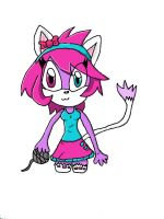 kirban win: Bubblegum the cat by sonicandmlplover69