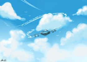 paper plane by 3ihard