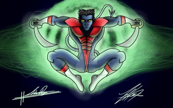 Nightcrawler (Kurt Wagner) by AllHaleTurekArt