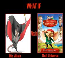 What if Ratigan in The Tale of Despereaux by JasonPictures