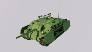 Medium Tank Hunter, Mark 4 by TheoComm