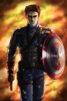 Captain America by xzodust