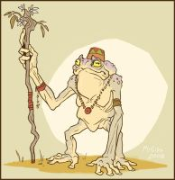 Toad Shaman by McGibs