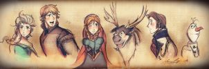 The Frozen Gang [A Sketch series] by The-Longfall-of-1979