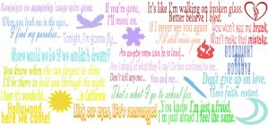 Jonas Brothers Song Quotes by DolphinWriter