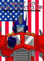 OPTIMUS WANTS YOU by hansime
