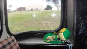 Snivy sleeping on the bus! by ryanthescooterguy