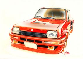 RENAULT 5 TURBO by minimumoverdrive