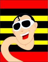 Plastic man by AlanSchell