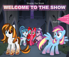 'Welcome To The Show' Album Cover by AquaMarie1995