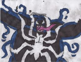Venom's Out of Shape by ChahlesXavier