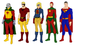 My Dc Reboot Earth 2 Lineup 3 by jsenior
