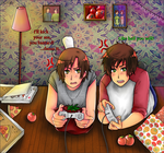 APH: Playing video games by Jaskierka