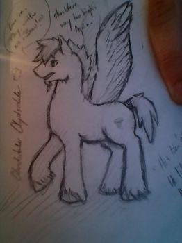 Cloudsdale Clydesdale by Flintlonewolf