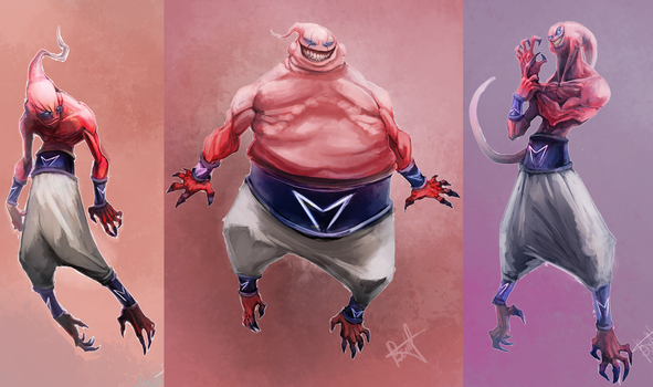 Majin buu by KZBulat