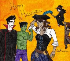 Happy Halloween from Republic City by A-Little-Demonic