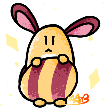 Shiny Sentret Gif! (Has Speedpaint!) by TheDrawingMorgs
