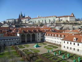 Prague - A view on the castle by someoneabletofindana