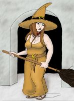 Agni the Messenger Witch II by Reinder