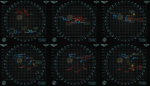 40k Battlefleet Gothic Radar-Style Maps by Light-Tricks