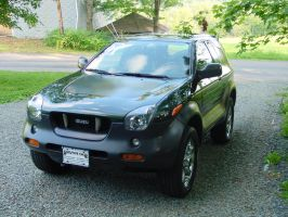 :2001: Isuzu Vehicross - 6 by KageYuurei