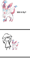 Sylveon - Will you fly? by DangerousEmotions101